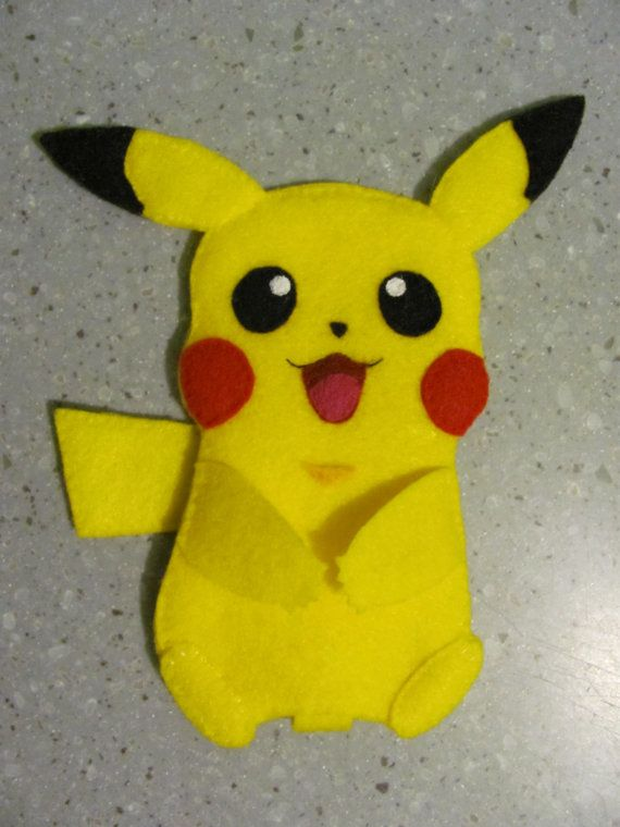 Awesome! Pikachu Felt iPod Touch Case 6th Generation - $20.00 - http://www.etsy.com/shop/ArtYoullLove?ref=search_shop_redirect