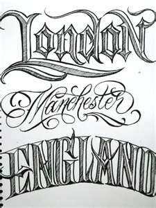 My name style text