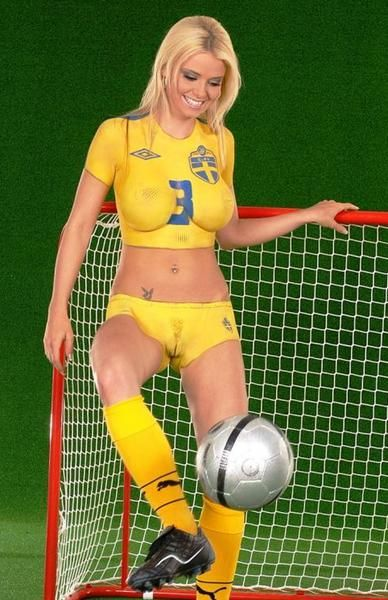 hot girl girls in soccer jersey
