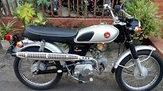 Motor Klasik Dijual : Honda CL50 Benly - JAKARTA