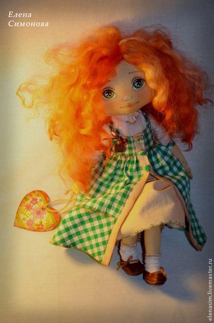 Коллекционные куклы ручной работы. Алина. Елена Симонова. Ярмарка Мастеров. Интерьерная кукла, акриловые краски