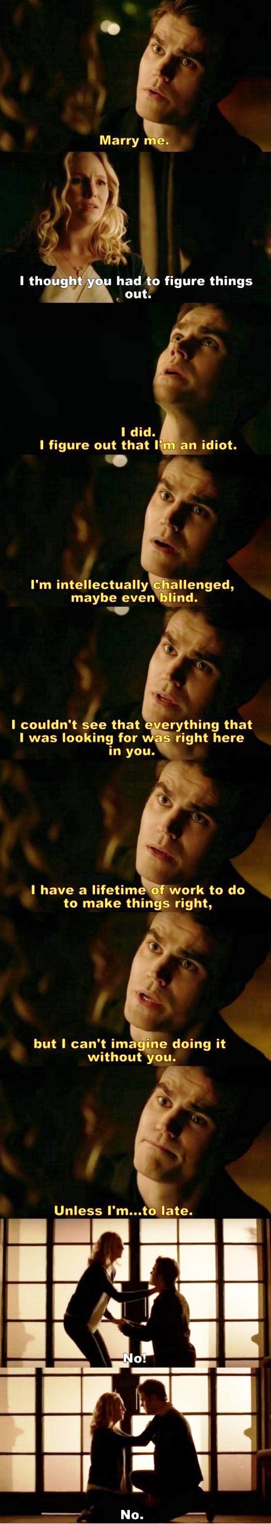 The Vampire Diaries TVD S08E14 - Steroline
