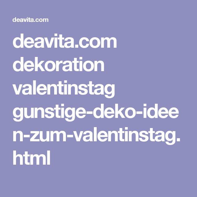 deavita.com dekoration valentinstag gunstige-deko-ideen-zum-valentinstag.html
