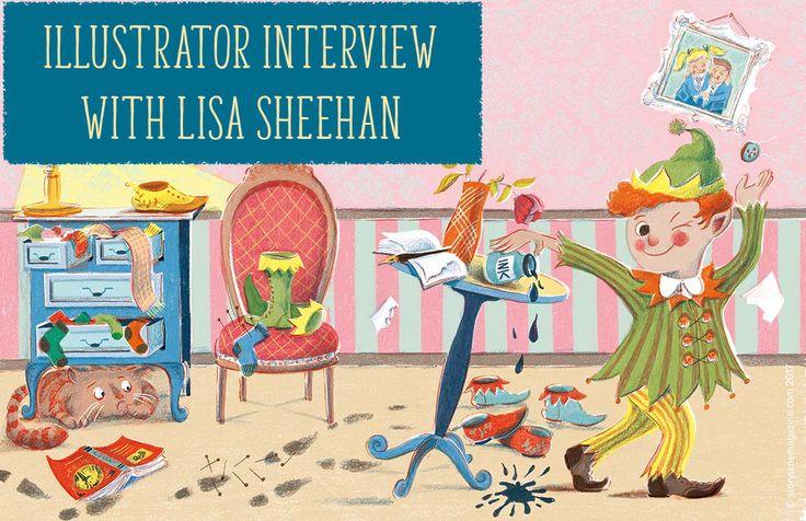 Read an inspiring Q&A with Mr Nobody/children's illustrator Lisa Sheehan: http://www.storytimemagazine.com/news/inside-stories/illustrator-interview-lisa-sheehan/