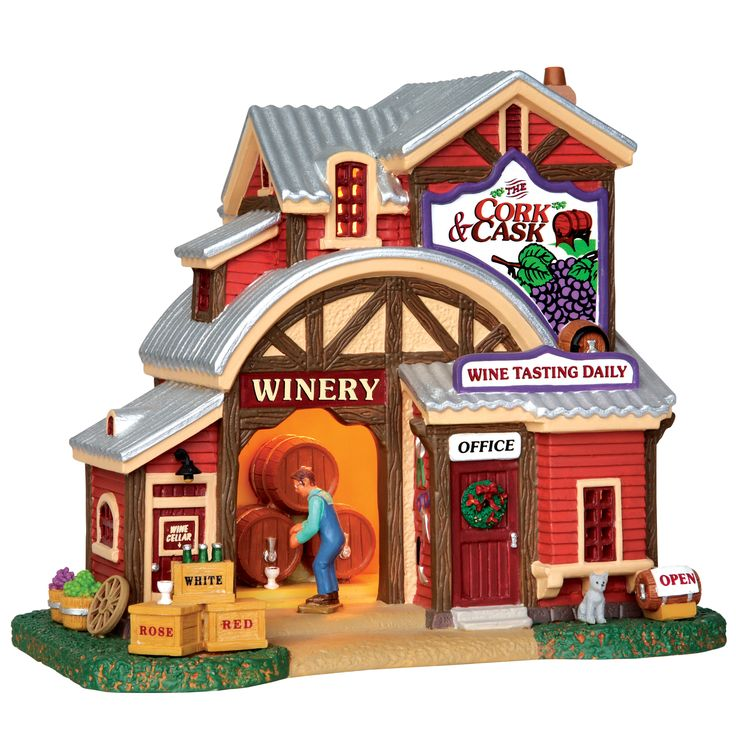 82 best LEMAX CHRISTMAS VILLAGE Colletable images on Pinterest ...