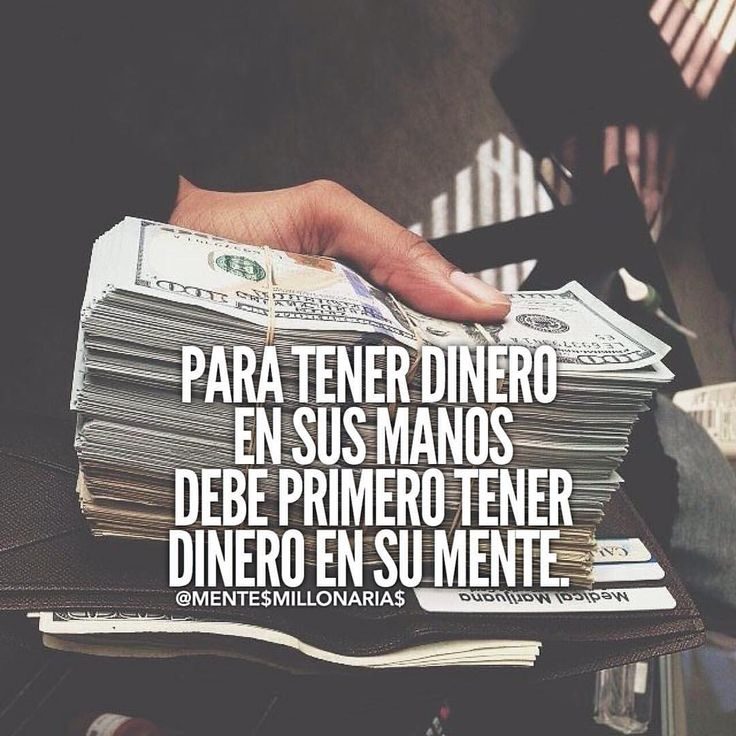 Para tener dinero en sus manos, primero debe tener dinero en su mente. Conquista tu libertad financiera.