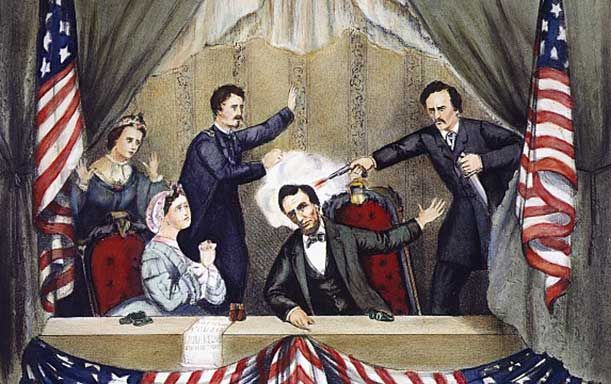 What was the name of the theater where President Lincoln was mortally wounded? #civilwar