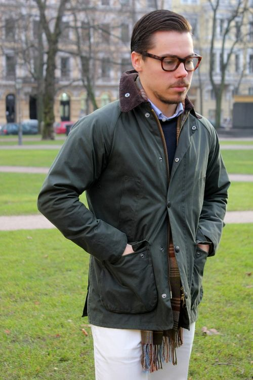 waxed is better - Barbour