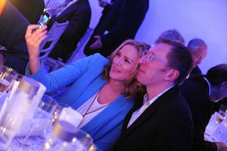 Kim Cattrall at the New York Academy of Art's 2012 Tribeca Ball