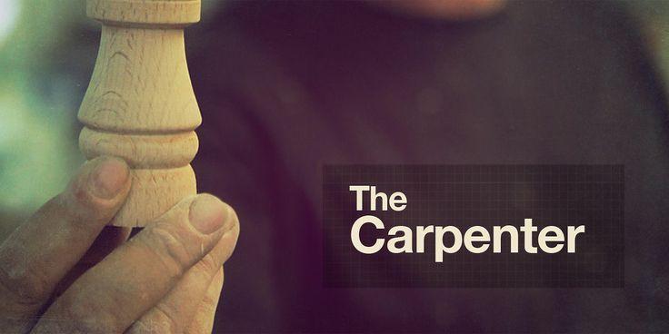 The Art of Making, The Carpenter on Vimeo #overlay #infographics