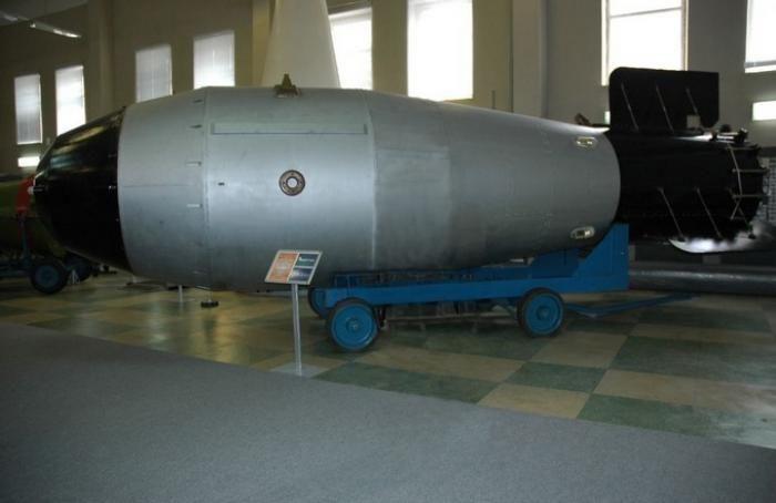 La Russie expose sa plus puissante bombe nucléaire dans un musée 0