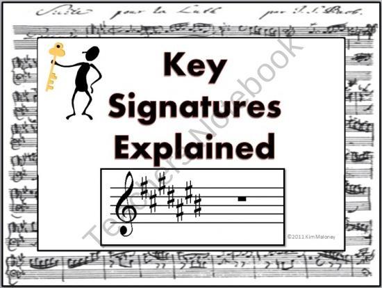 71 best music key signatures images on pinterest music