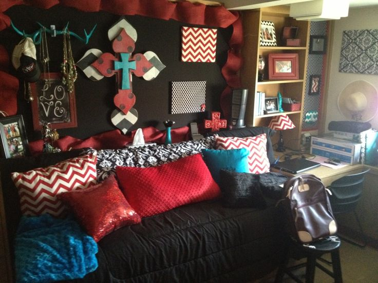 Decorating Ideas > Texas Tech Dorm Room In Stangel  College 101  Pinterest  ~ 183425_Texas Tech Dorm Room Ideas