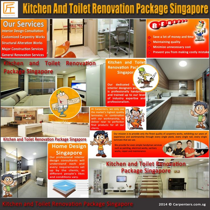 7 best kitchen and toilet renovation package singapore images on