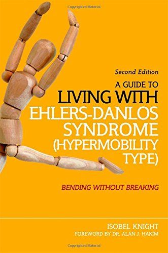 A Guide to Living with Ehlers-Danlos Syndrome (Hypermobil... https://www.amazon.com/dp/1848192312/ref=cm_sw_r_pi_awdb_x_xQlZyb82H0EP2