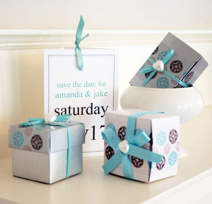 Chocolate Wedding Favors Ideas Decorative Tape In