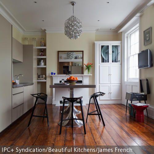 Holzdielen in der küche  Holzboden In Der Küche ~ Home Design Ideen