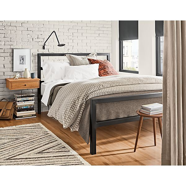 Parsons Bed With Images Modern Bedroom Furniture Modern Bed