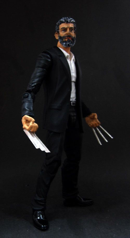 Marvel Legends DC Universe Wolverine Logan Movie Custom Figure Hasbro Toybiz | Toys & Hobbies, Action Figures, Comic Book Heroes | eBay!