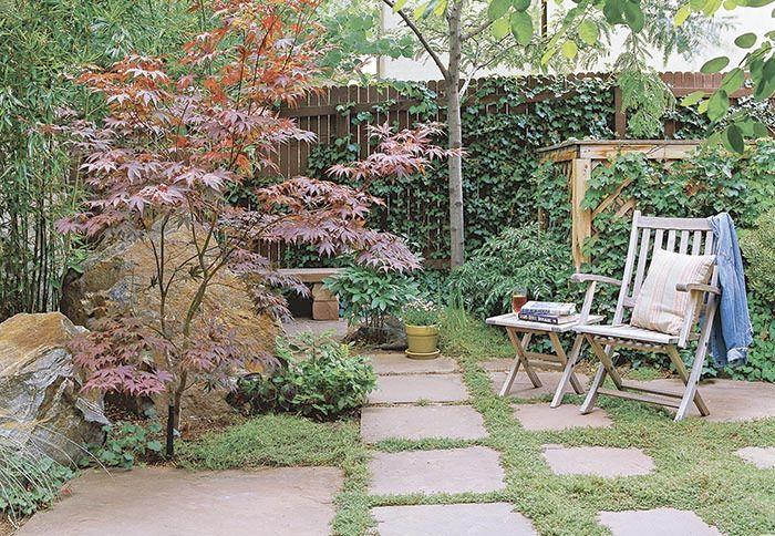 12 fantastiska små trädgårdar - Sköna hem