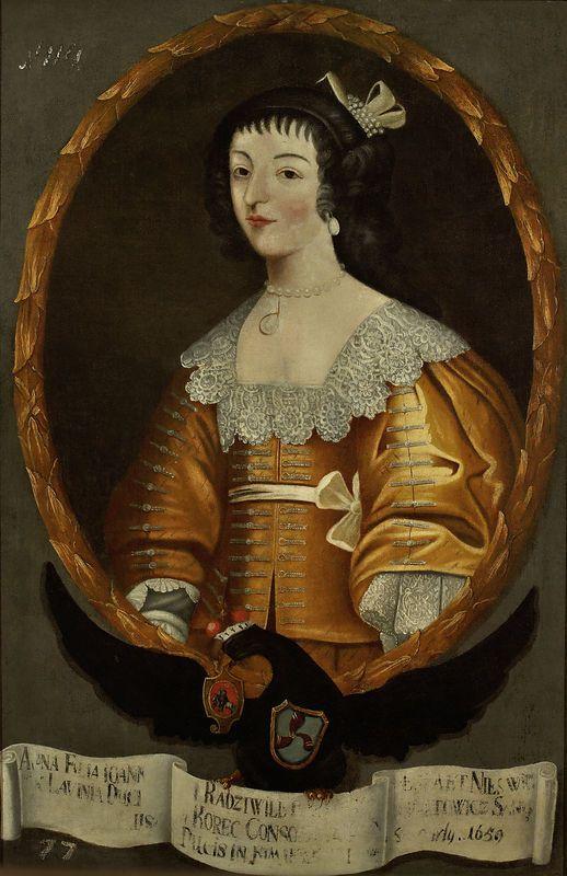 Muzeum Cyfrowe dMuseion - Portret Anny z Radziwiłów Sanguszkowej (?-1659)