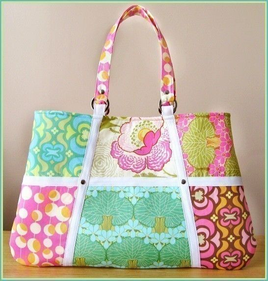 MODERN ACCENTS Handbag PDF Sewing Pattern by SweetPeaTotes on Etsy