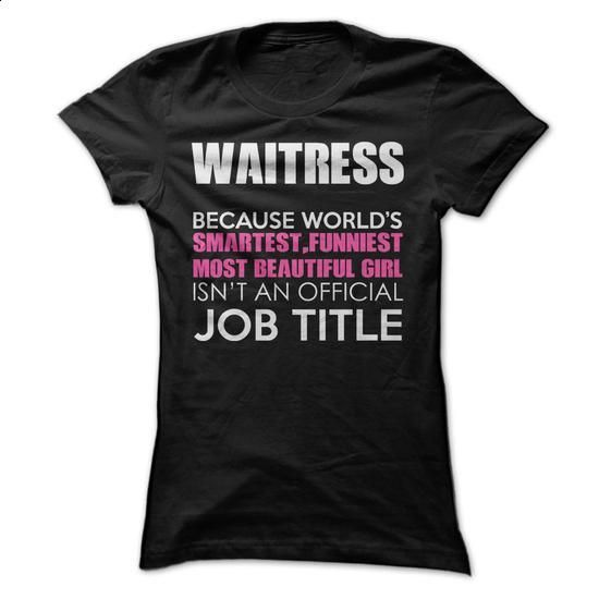 Awesome Waitress Shirt - #tee #design tshirts. GET YOURS => https://www.sunfrog.com/Funny/Awesome-Waitress-Shirt-yry5.html?60505