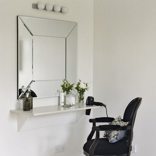 372 best home hair salon ideas images on pinterest hair for Beauty parlour dressing table images