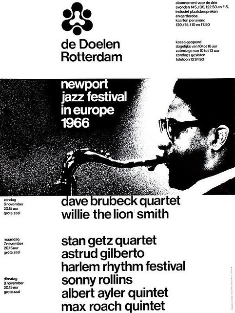 Newport Jazz Festival 1966 Design: Benno Wissing