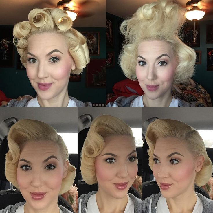 A how to on my hair for today's session of #missrubysbeautyschool in Vegas! #missruby #missrockabillyruby #pinup #pageboy #pinuphair #retro #retrohair #Vintage #vintagehair