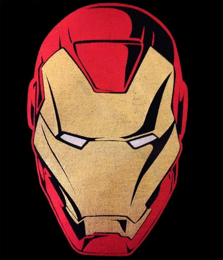 Camiseta Iron Man. Cara Mark VII cómic