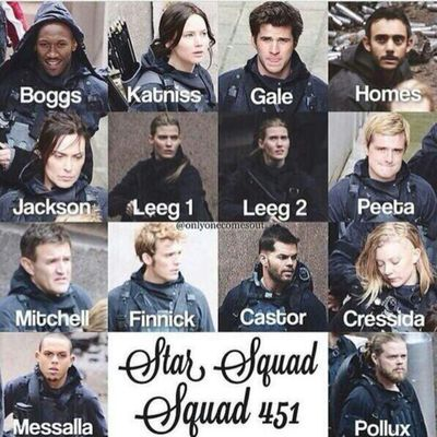 451 <3 really curious as to how specific they're going to be on the way Pollox acts because of being an avox. like, Katniss describes the way he swallows...how on earth are they going to portray that? or will they even try to?