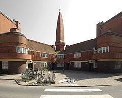 """""""Het Schip"""" aparetment building in Amsterdam, 1917-20 (Michel de Klerk)"""
