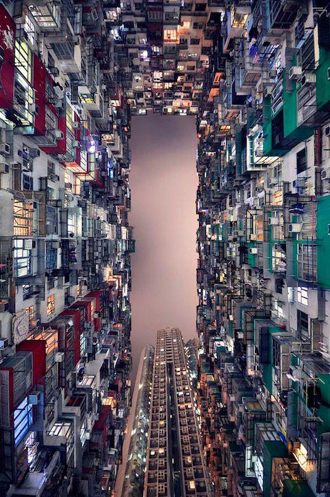 Hong Kong's skyscrapers   Romain Jacquet-Lagreze