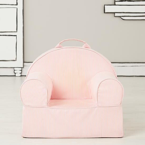 Entry Level Nod Chair (Pink Stripe) | The Land of Nod