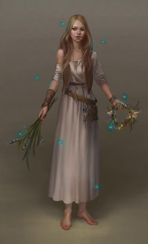 The herbalist by Goran-Alena.deviantart.com on @deviantART