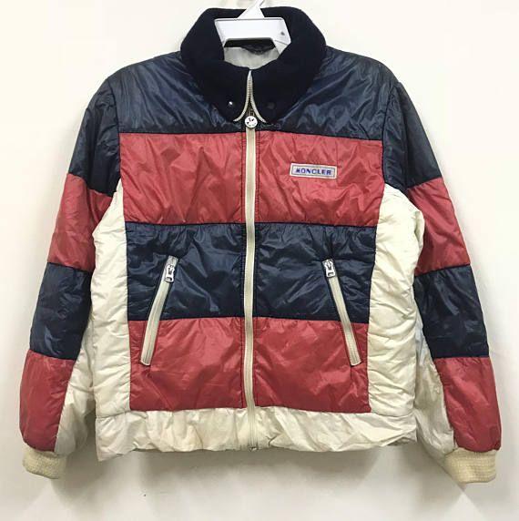 6c4b8b137 Vintage Moncler Ski Wear Puffer Jacket Multicolour Design | Everyday ...