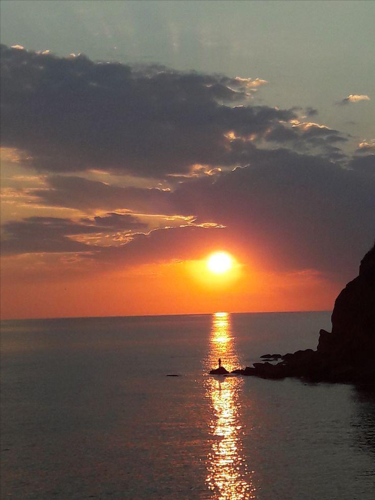 Beach of Nea Chili, Alexandroupolis, Evros, Greece.