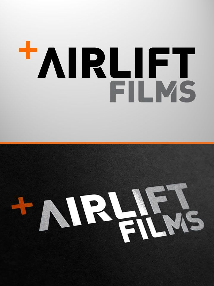 Airlift Films logo by elkinsdesign