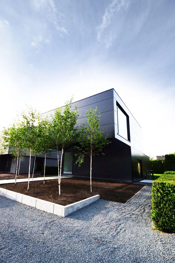MUO architecten - staalbouwwoning te LOENHOUT