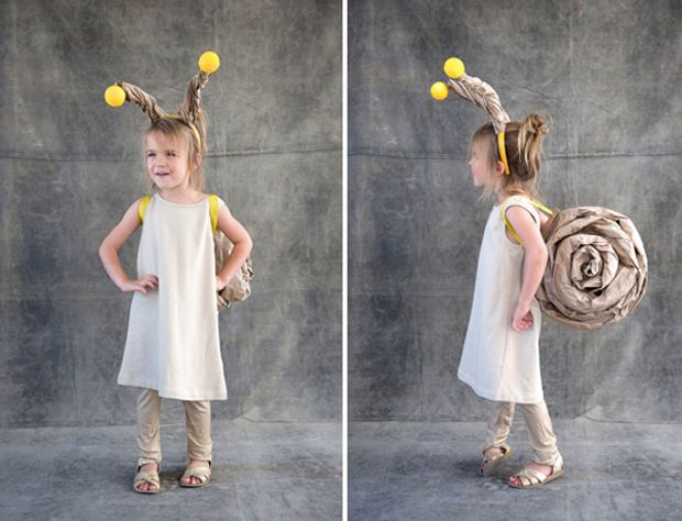 I love really creative DIY Halloween Costumes for kids, and home-made looking…