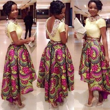 african maxi skirt - Google Search