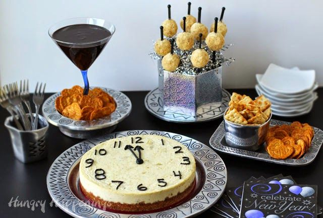 New Year's Eve Appetizer and Dessert Recipes from HungryHappenings.com