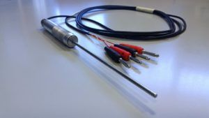 RTD Pt100 4 wires for Contact Temperature Measurements