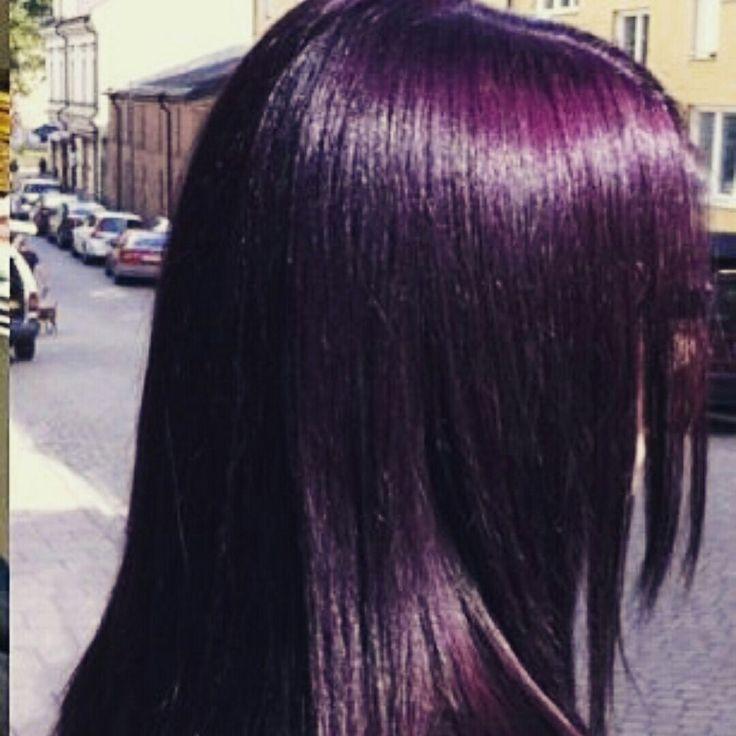 Violet brown hair color formula