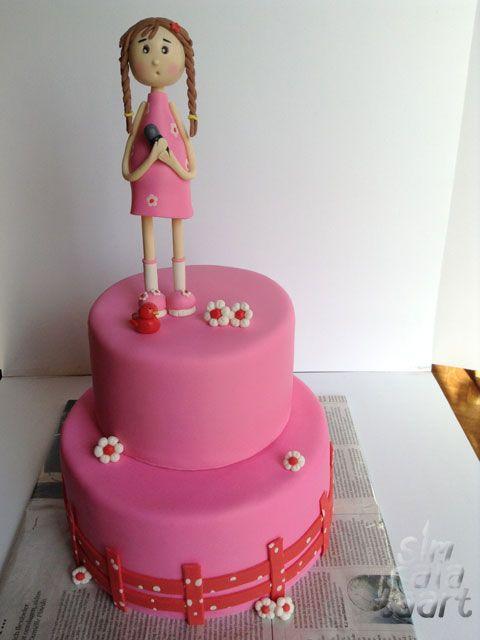 Roze Meisjestaart