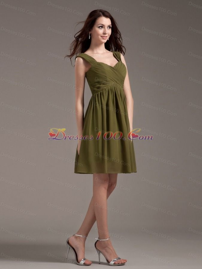 I like the style of this bridesmaids dress