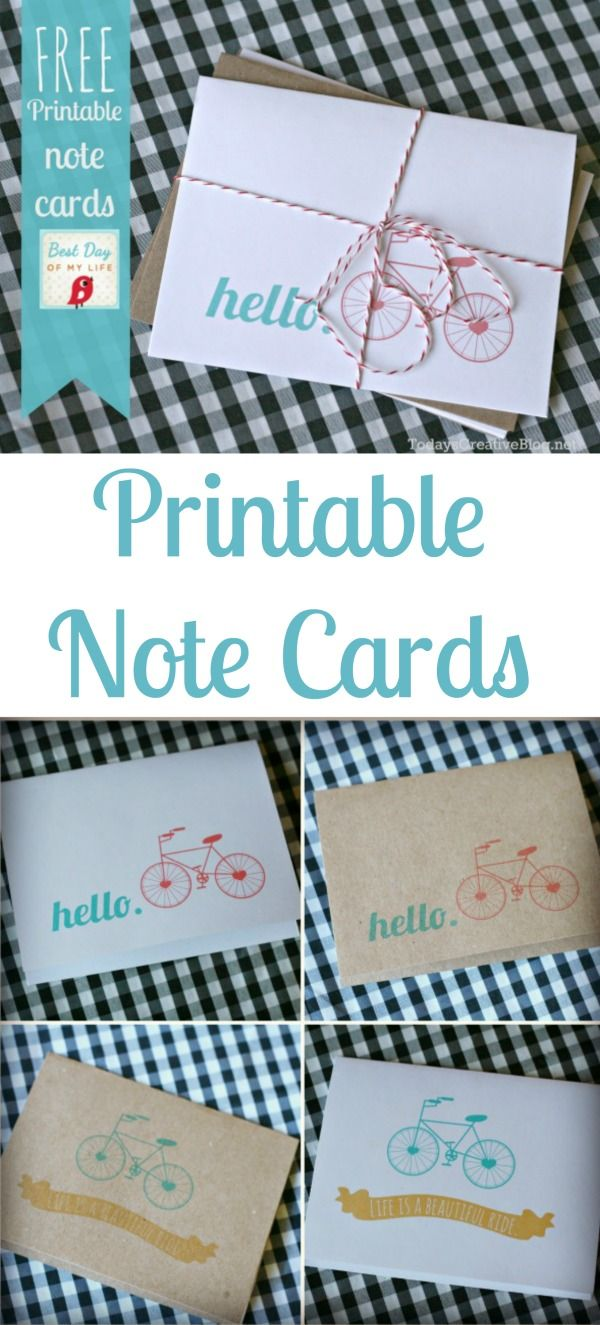 Printable Note Cards Best 25 Note Cards Ideas On Pinterest Card Ideas Easy Cards