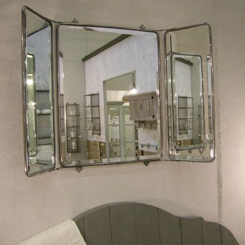 Meer dan 1000 idee n over miroir triptyque op pinterest for Miroir trois faces salle de bain