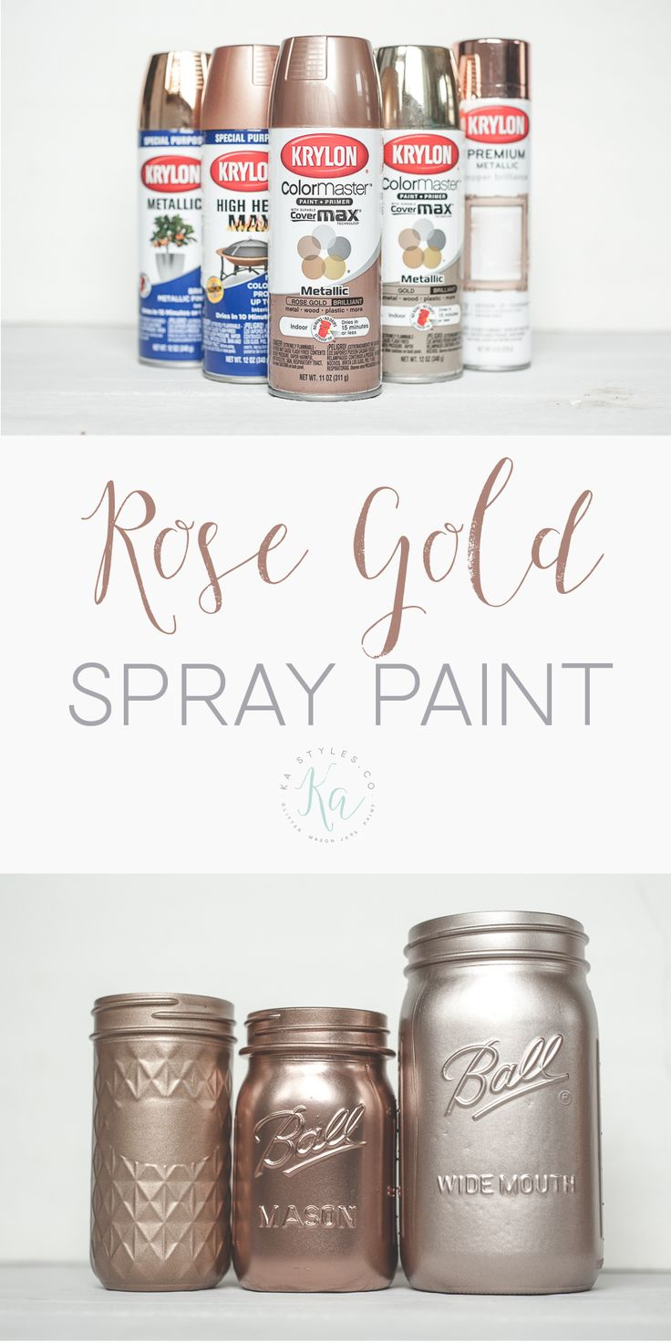 Best 25 krylon spray paint colors ideas on pinterest bedroom ideas rose gold rose gold Metallic spray paint colors